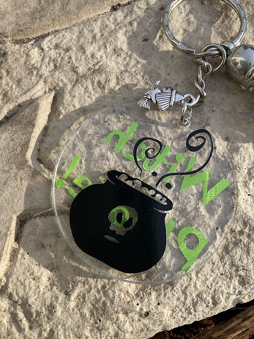 Witch Please! Keyring