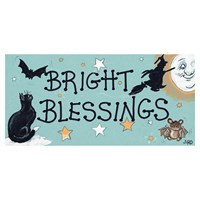 'Bright Blessings' Hanging Plaque