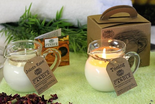 Ancient Wisdom Soy wax massage candles (Available in 4 blends)