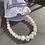 Thumbnail: Rose quartz and cultivated pearl bracelet