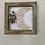 "Thumbnail: Floral moon box frame 8x8"""