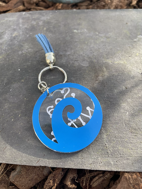 Sea witch keyring