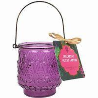 Purple Votive Candle Holder