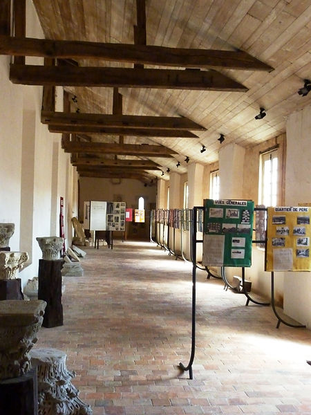 Aile nord du musée d'art et d'histoire du Cap de gascogne en 2015