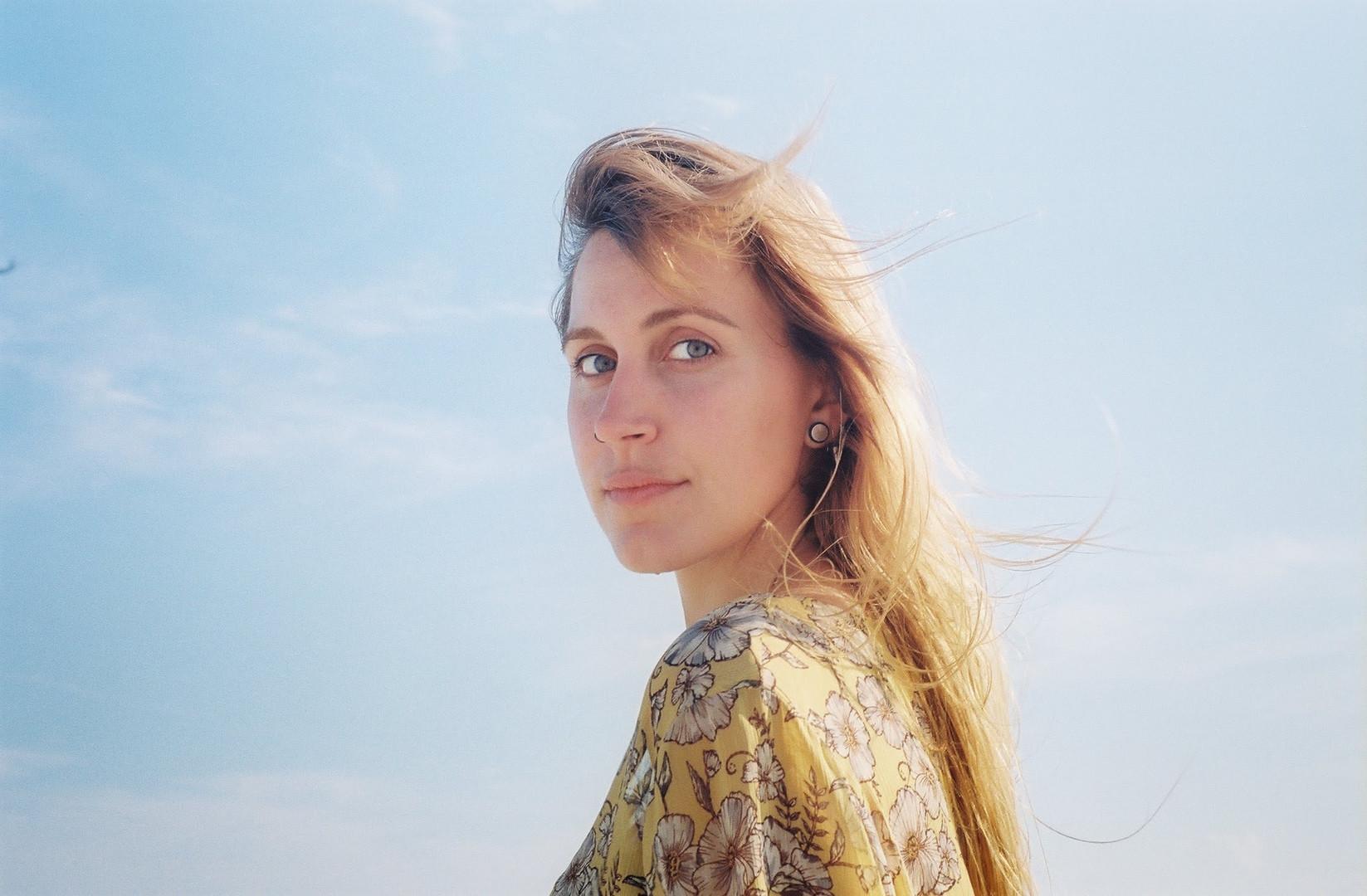 Aimee at Rockaway Beach