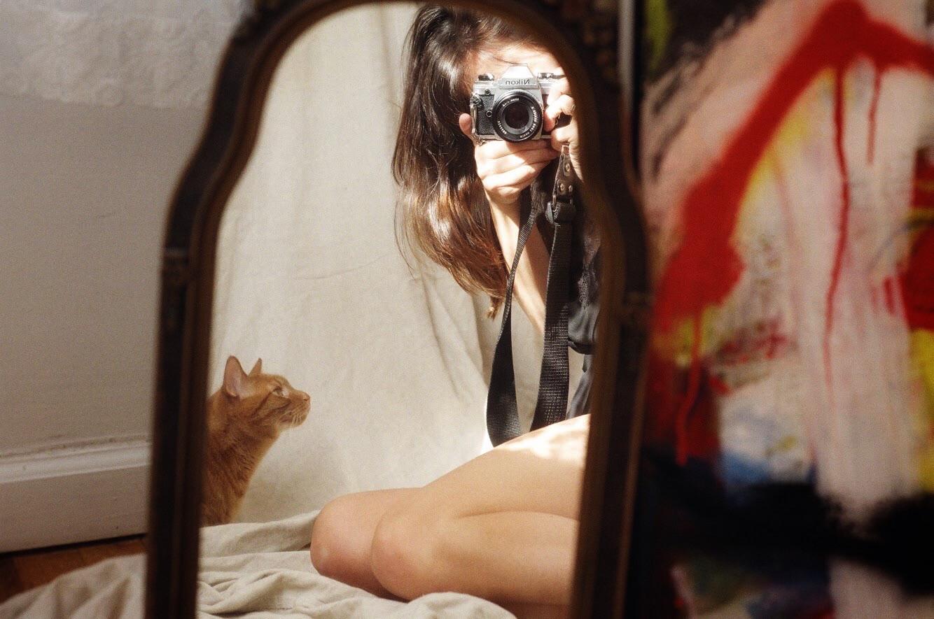 Self Portrait with Louie