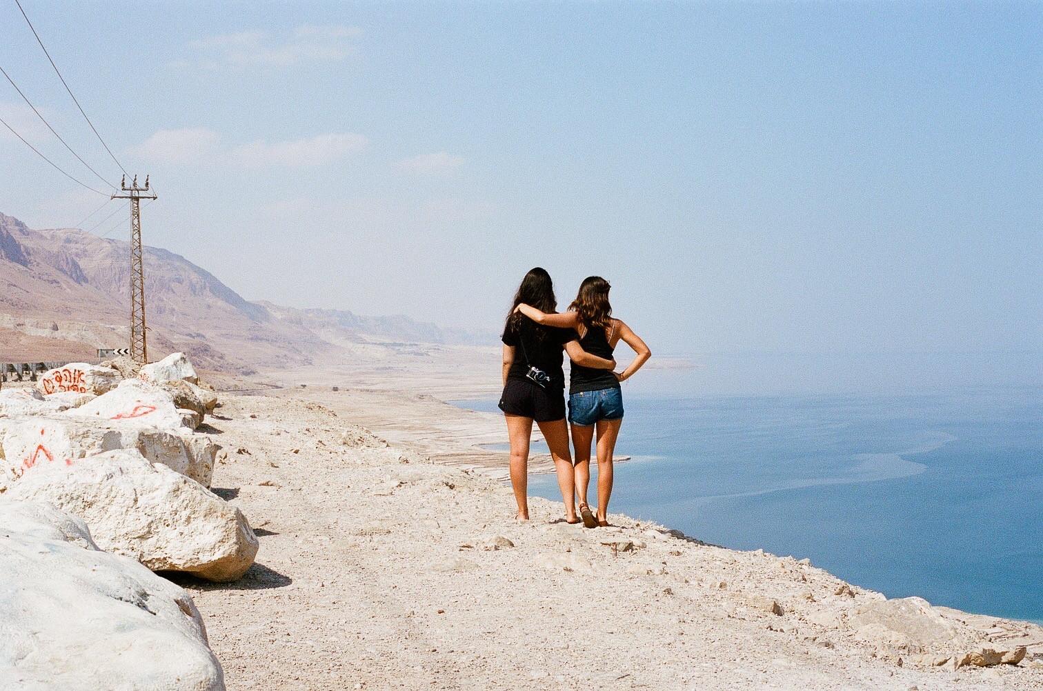 Self Portrait at the Dead Sea