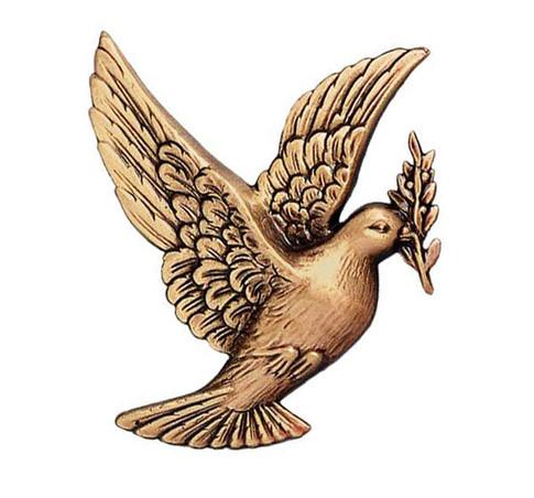 Bronze Dove: Left [9cm]