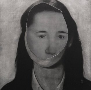 Özneler - Elif, Özgür / Subjects - Elif, Özgür - 85 x 102 - Acrylic on canvas - 2014
