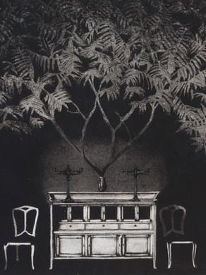 Nostomania no 4 - 50 x 50 -  Acrylic on paper - 2014