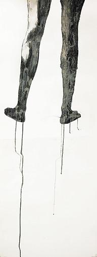 İsimsiz - Untitled - 70 x 200Felt tip on paper - 2006