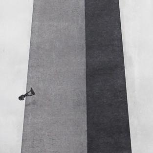 Total kurumlar - Yüceler -yücesi Total Institutions - Sublime - 135 x 35 - Acrylic on paper - 2014