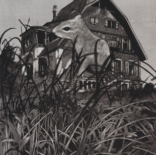 Nostomania no 2 - 50 x 50 -  Acrylic on paper - 2014