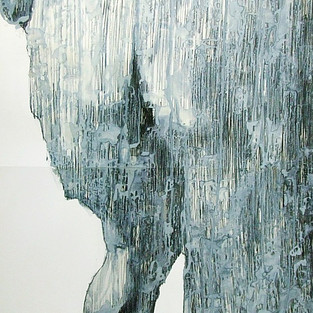 Isimsiz / Untitled - 200 x 70 -  felt tip on paper - 2006
