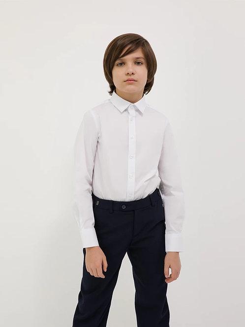 Сорочка длинный рукав гладкая