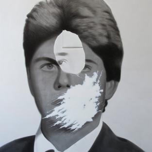 Özneler - Aziz, Özgür / Subjects - Aziz, Özgür / 155 x 130- Acrylic on canvas - 2015