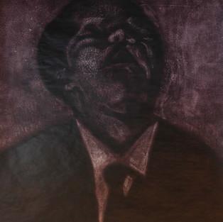 Derin nefes / Deep breathe - 180 x 160 - Acrylic on paper - 2010