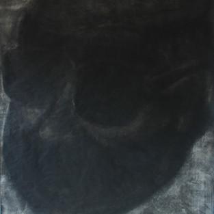 Koca Kafa / Big Head - 160 x 190 - Hena on paper - 2010