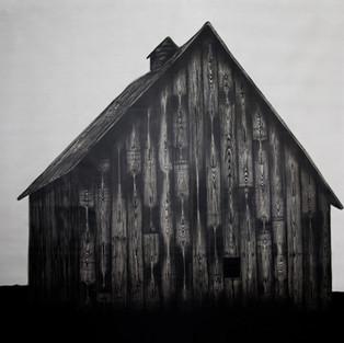 Yuva / Home - 155 x 160 - Acrylic on canvas -