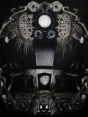Yaban Çilekleri / Wild Strawberries - 200 x 180 -  Acrylic on paper - 2013