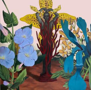 Gardener - 200x190 - oil on canvas - 2021