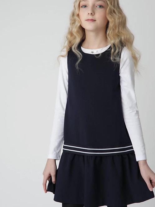 Платье из Джерси Синее