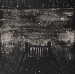 Aynı Beşikte / At the Same Cradle - 182 x 182 - Acrylic on paper - 2011