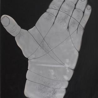 İsimsiz / Untitled - 198 x 144 -  Sprey on paper - 2011