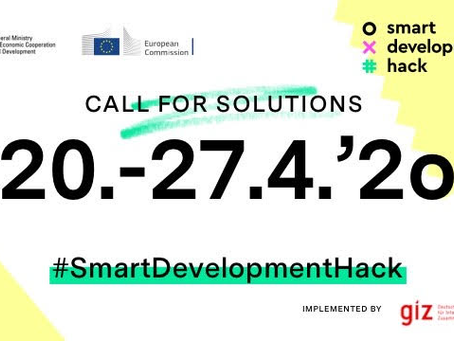 #SmartDevelopmentHack – Call for Solutions