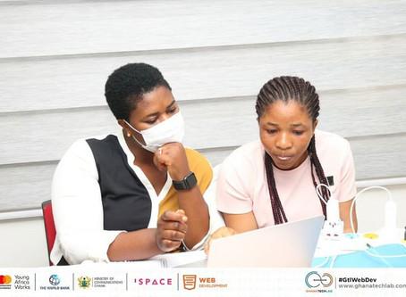National Web Development Training with Ghana Tech Lab.
