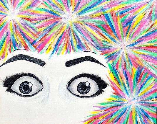 """Epiphany - 16""""x20"""" Acrylic Painting"""