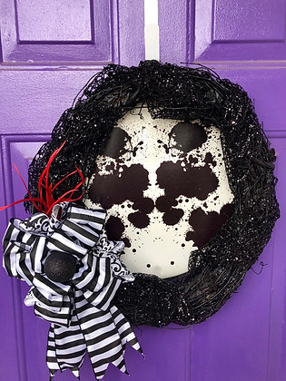 Rorschach Wreath