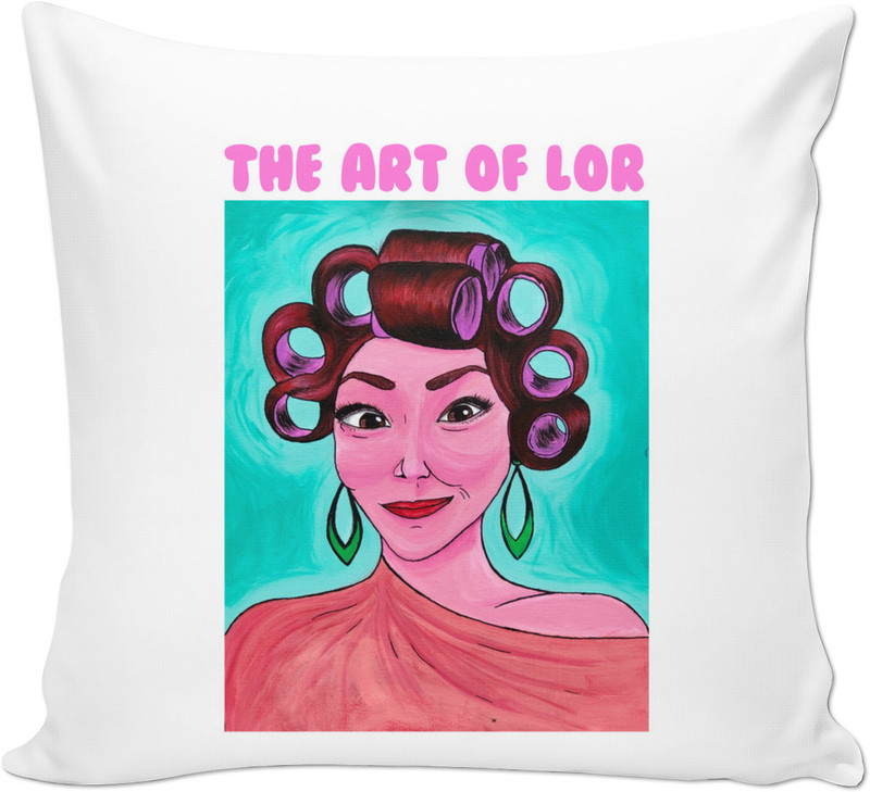 The Art of Lor Logo Throw Pillow.jpg