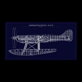 Aeronautica Macchi MC.72 Blue Print