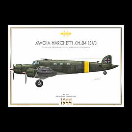 SIAI Marchetti S.M.84 - Slovak Air Force