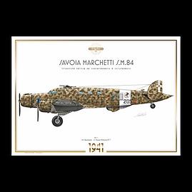 SIAI Marchetti S.M.84 - 205^ Sq. 41° Gr. Aut.