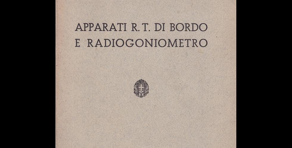 Apparati R.T. e Radiogoniometro