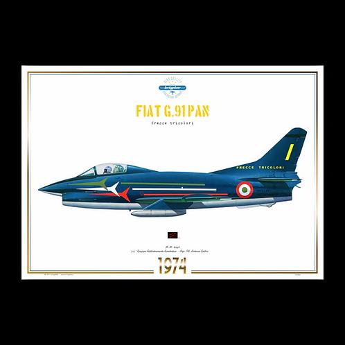 FIAT G.91PAN Frecce Tricolori