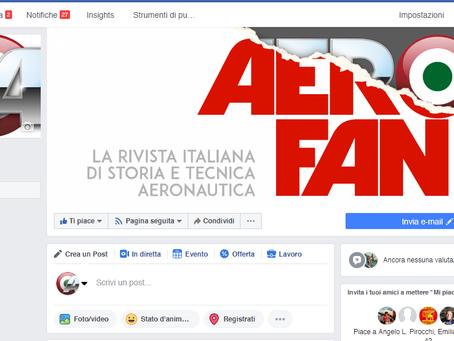"""""""Aerofan"""" su facebook!"""