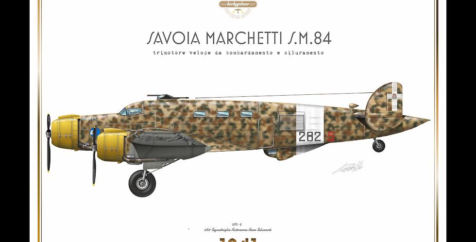 SIAI Marchetti S.M.84 - 282^ Sq.