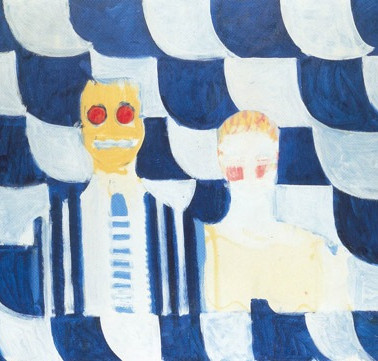 Mr & Mrs Robyn Denny by Howard Hodgkin