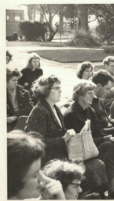 Robyn Denny at Corsham 1961
