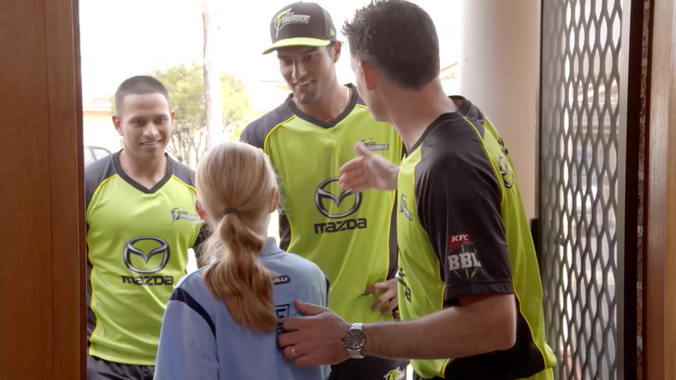 Sydney Thunder Fan Surprise