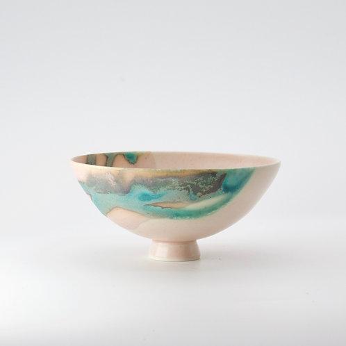 tiptoe bowl - pink