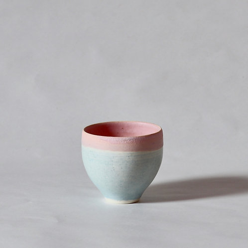 tea sipper - pink x turquoise