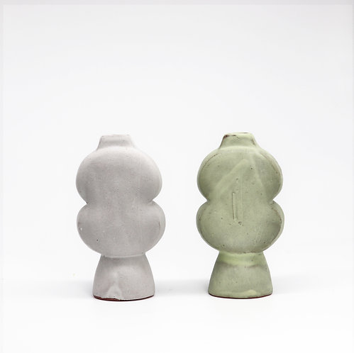 sculptural vase - small gourd
