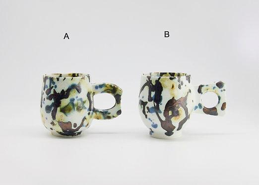 mug - bronze tricolour slip