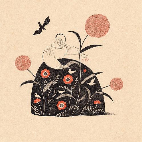 Birds & Flowers Skirt