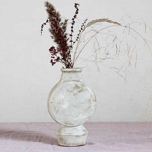 sculptural vase - Moon Flask