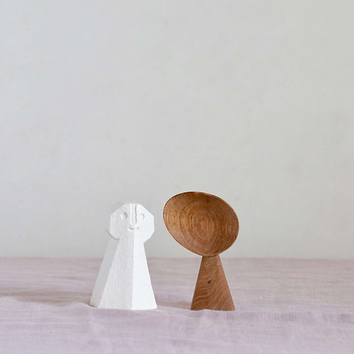 Hand Carved Wooden Spoon - mini
